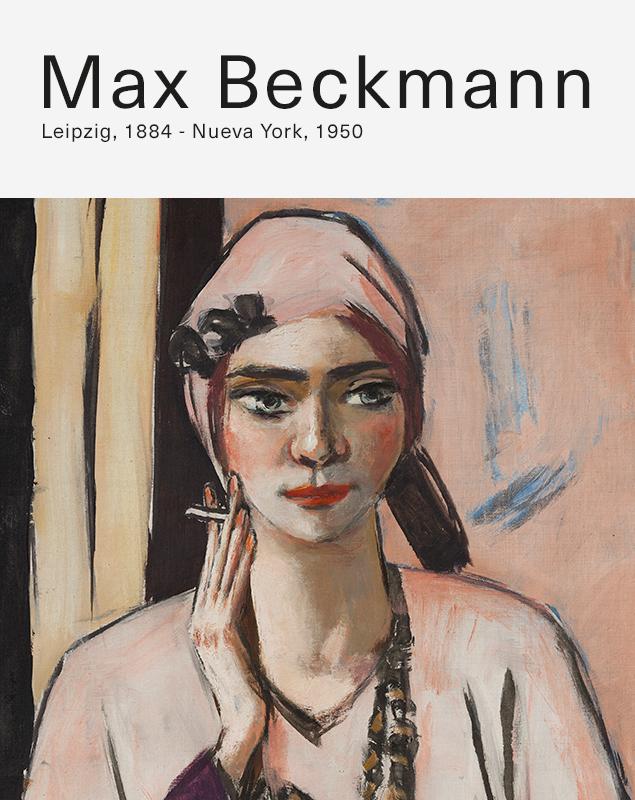 Exposición de Max Beckmann en el CaixaForum Barcelona.