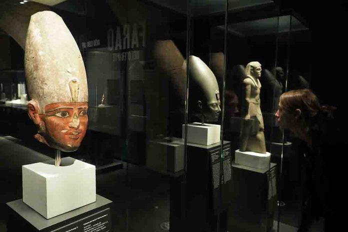 Faraón. Rey de Egipto. CaixaForum Girona