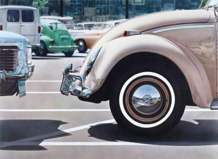 Don Eddy (Long Beach, California 1944) saltó a la fama gracias a su dominio del aerógrafo para representar todo tipo coche.