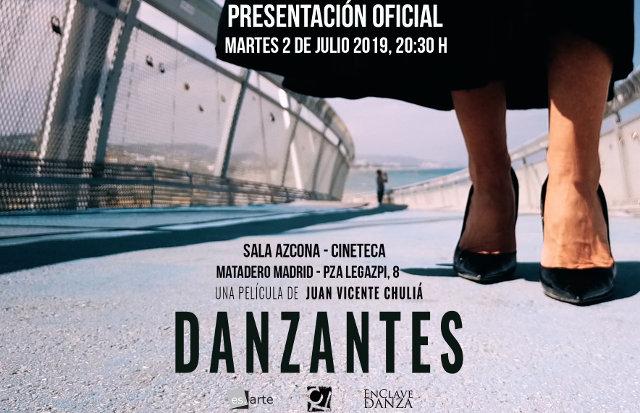 largometraje danzantes Dirigido por Juan Vicente Chuliá, aborda el mundo de la danza desde una visión transversal e internacional