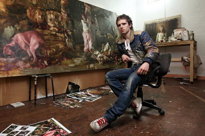 Guillermo Lorca pintor hiperrealista chileno