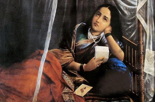 Raja Ravi Varma fue un pintor y artista indio, considerado como uno de los mejores pintores de la historia del arte indio.