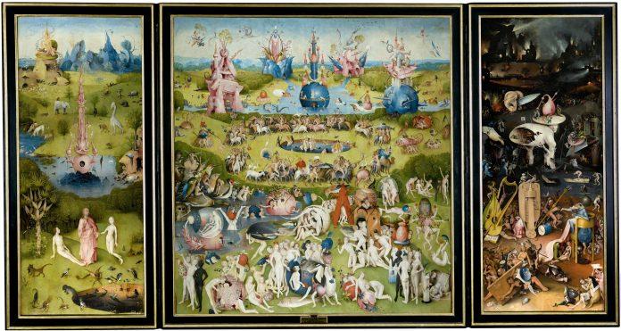 na de las obras más conocidas del pintor neerlandés Jheronimus Bosch