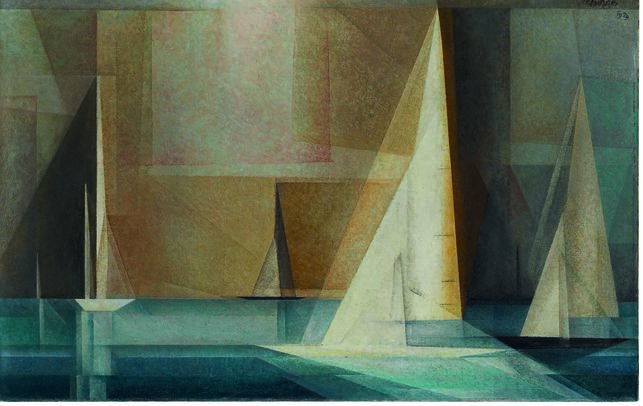 Con motivo de la conmemoración del centenario de la Bauhaus, el museo organiza una pequeña exposición con obras de artistas vinculados históricamente a la escuela y pertenecientes a la colección permanente.