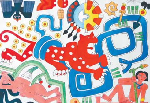 El padre del dibujo de nicaragua