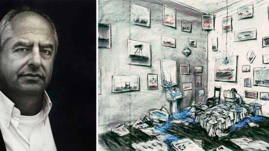 William Kentridge (1955, Johannesburgo, Sudáfrica), artista gráfico, cineasta yactivistateatralsudafricano,especialmente conocido por una secuencia de películas animadas dibujadas a mano que produjo durante la década de 1990.El humanismo que reveló en estas y otras obras se hizo eco de una tradición europea más amplia de artistas como Honoré Daumier,Francisco de Goya yWilliam Hogarth.