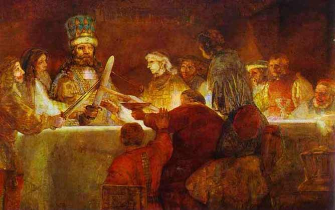 Obra Claudius Civilis por Rembrand,