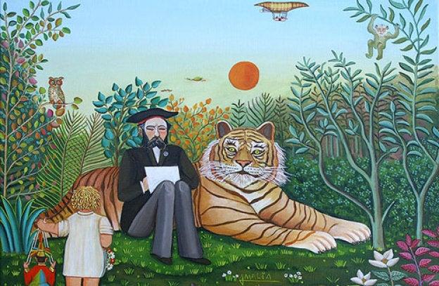 El término Arte Naíf se usó por primera vez a principios del siglo XIX para describir la pintura de Henri Rousseau, un pintor autodidacta admirado por la