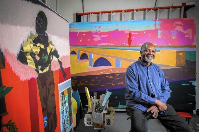 Nacido el 17 de octubre de 1955 en Birmingham, Alabama, Kerry James Marshall se dio cuenta de que quería ser artista a una edad muy temprana. Inspirado por las imágenes de un libro, Marshall decidió que quería ser un artista visual.